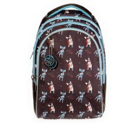 Рюкзак STREET Bonjour для девочки, старшая школа