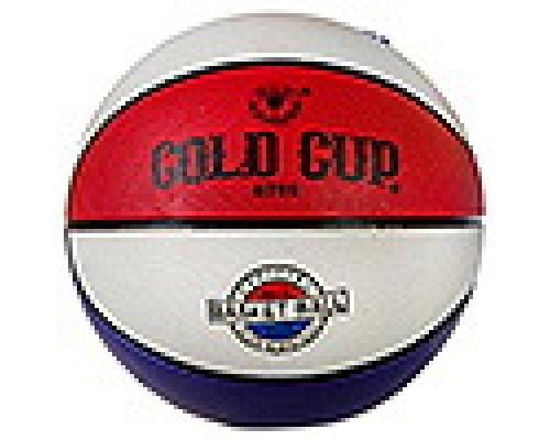 Мяч баскетбольный №5 резиновый цветной