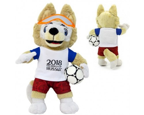 Мягкая игрушка Zabivaka 21 см FIFA-2018 Т11250