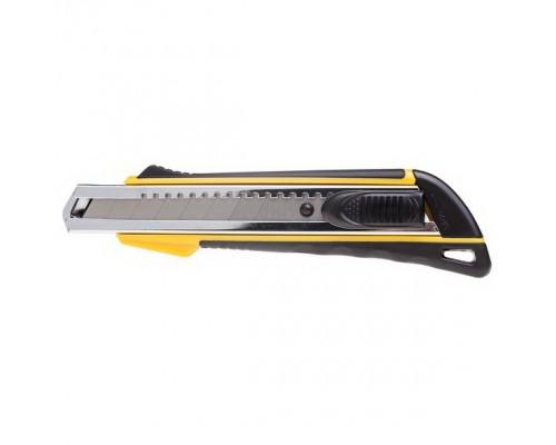Нож канцелярский 18мм. Hatber RAPID AUTO-LOCK