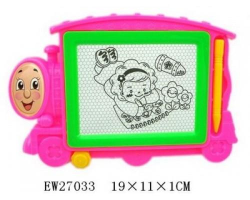 Волшебный экран малый Паровозик в пакете