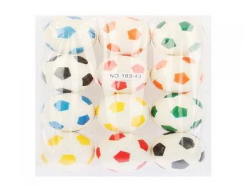 Мяч - Спорт 6 см. цветной 46131