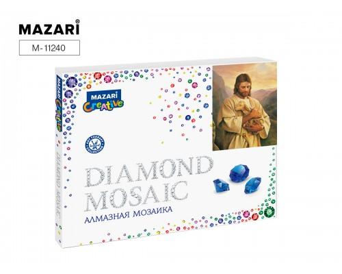 Алмазная мозаика ИИСУС С ЯГНЕНКОМ, 40х50 см