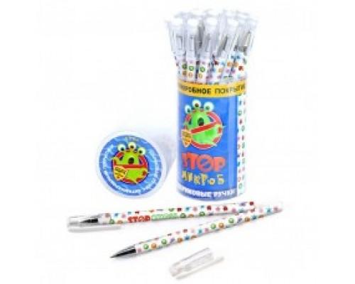 """Кан.Ручка масл.SM2020 """"StopМикроб"""" 0.7мм антибактериальное покрытие"""